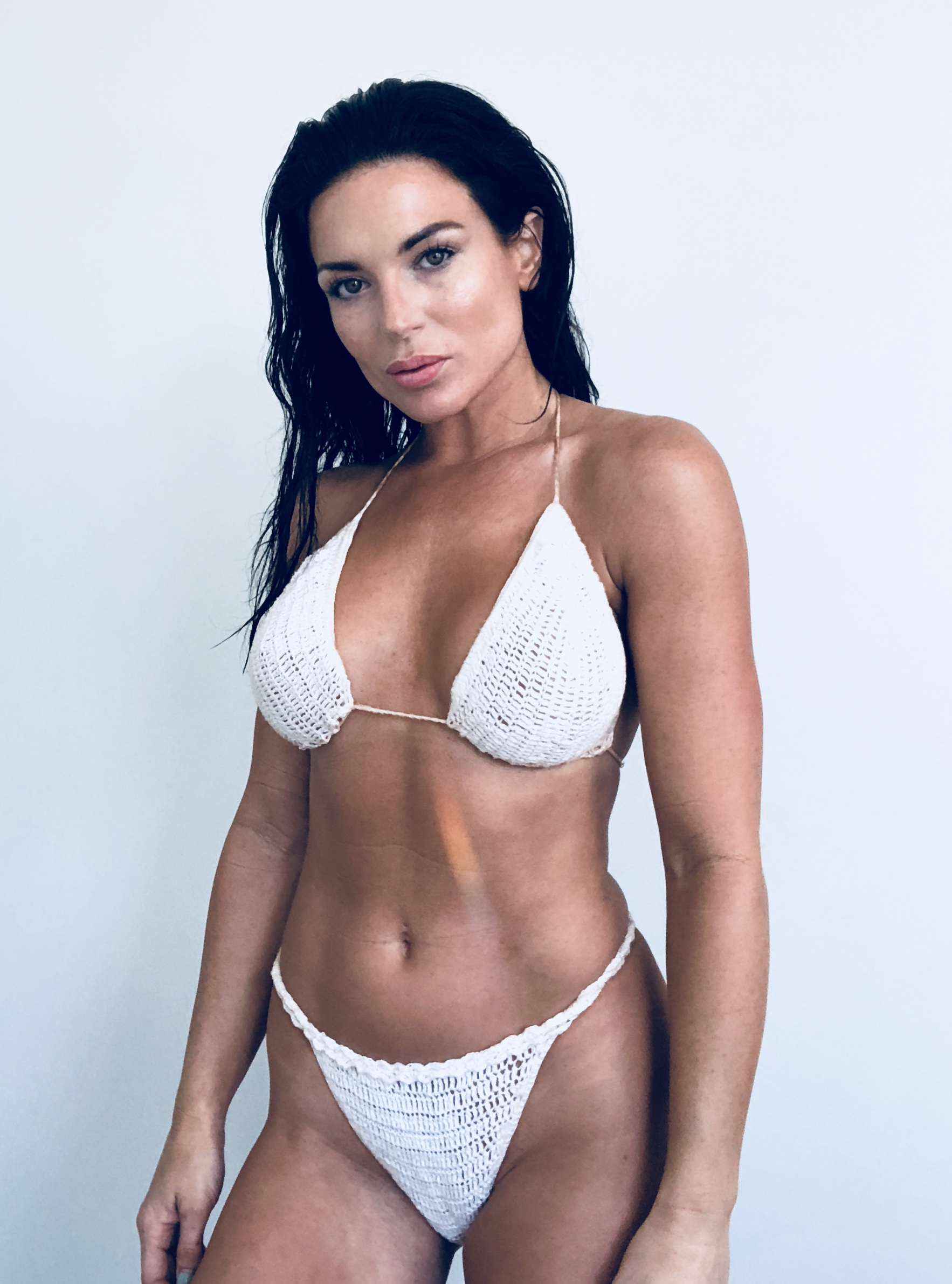 WHITE CROCHET BIKINI | THE LIDO