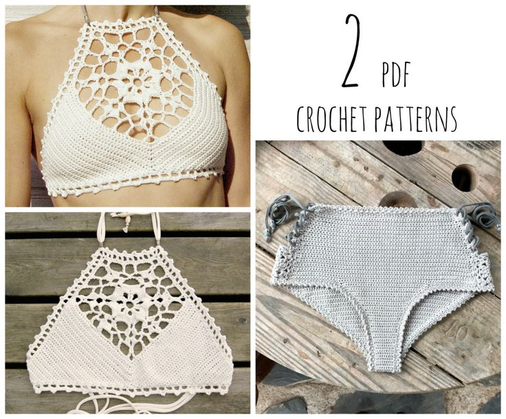 Latest trends in crochet bikini pattern - Crochet and Knitting