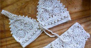20+ Free Crochet Bikini Patterns | Crochet | Crochet, Crochet bikini