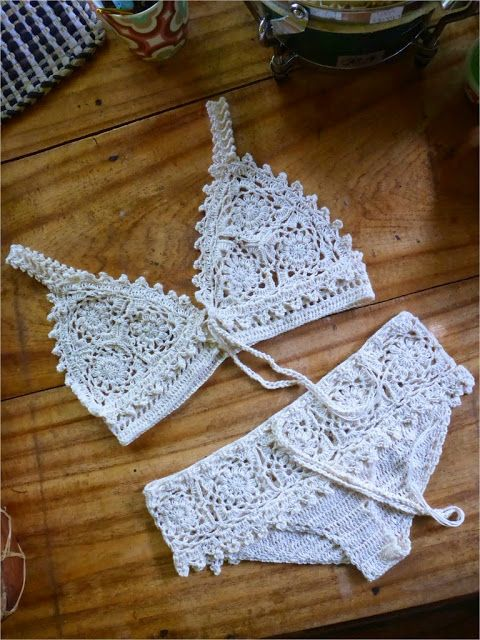 DIFFERENT TYPES OF CROCHET BIKINI PATTERN