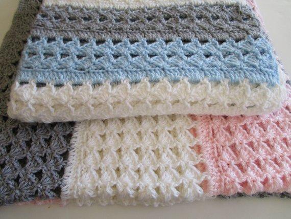 Crochet Baby Blanket Pattern Crochet Patterns Crochet | Etsy