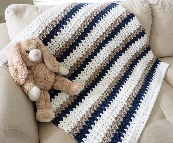 Crochet Baby Blankets for Boys - Sewrella
