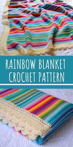 125 Best Crochet - Blanket Edging images | Crochet patterns, Crochet