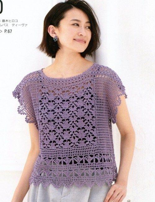 CROCHET BLOUSE. u2014 Crochet by Yana | tejidos a crochet | Crochet