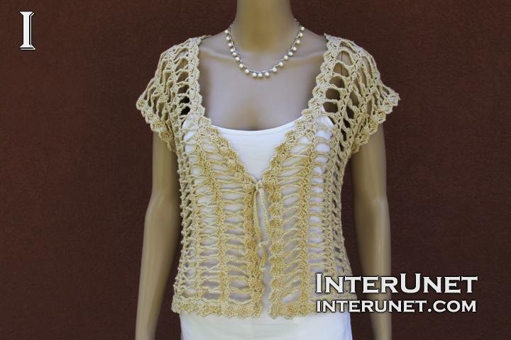 Crochet bolero jacket | interunet