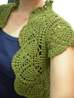 FREE CROCHET PATTERNS BOLERO | Crochet For Beginners - I would like