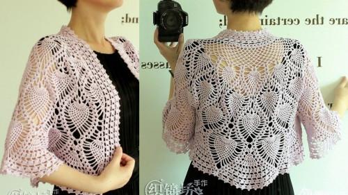 crochet bolero pattern pdf chart diagrams | marifu6a on ArtFire