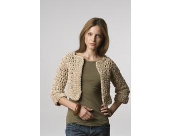 Crochet Bolero (Crochet) | Lion Brand Yarn