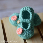 CROCHET BOOTIES FOR THE LITTLE ONES