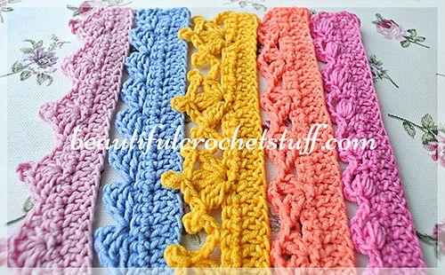 Crochet-edging-main_medium | Tricot/crochet//knitting | Pinterest