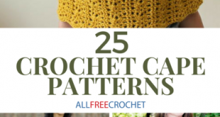 25 Crochet Cape Patterns (Free!) | AllFreeCrochet.com