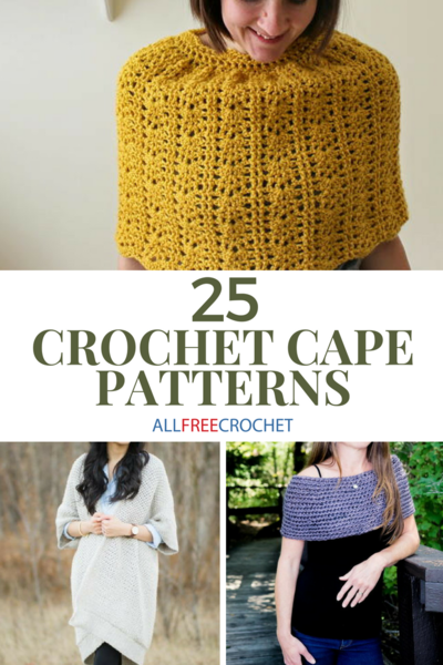 TYPES OF DIFFERENT CROCHET CAPE PATTERN