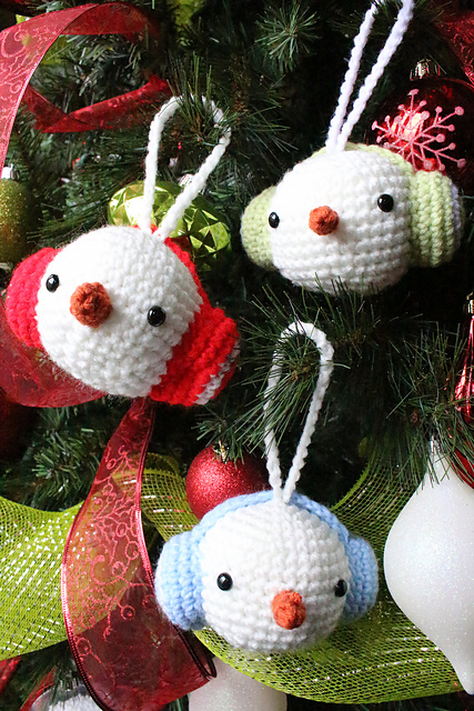 30+ Cute Free Crochet Christmas Ornaments Patterns To Decorate Your