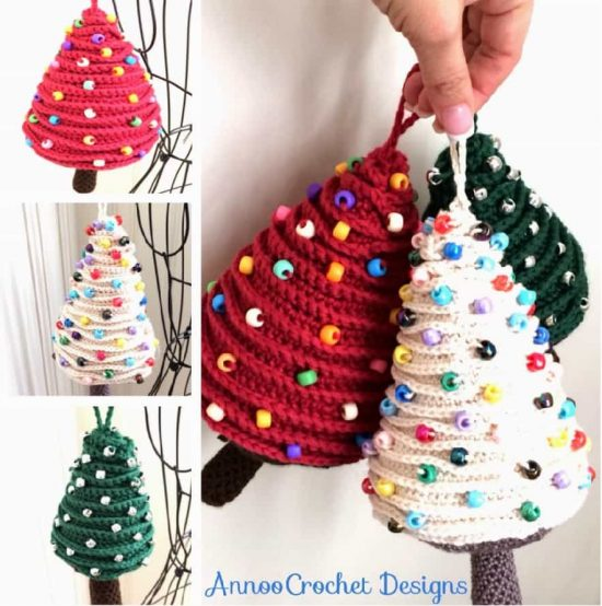 Christmas Crochet Tree Pattern The Best Ideas | The WHOot