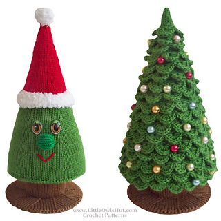 Ravelry: 009 Christmas Tree pattern by LittleOwlsHut