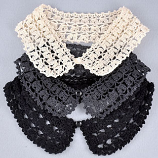 Ravelry: Detachable Puffy Lace Peter Pan Collar pattern by Jasz