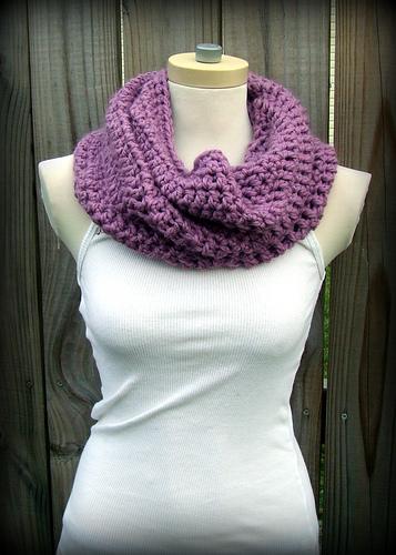 Convertible Free Crochet Cowl Pattern | FaveCrafts.com