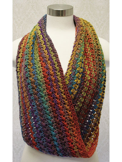 Star Stitch Crochet Cowl Pattern