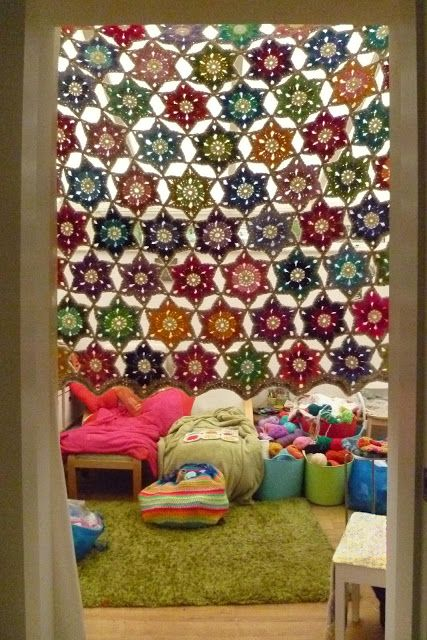 Enchanting Crochet Valance Curtains Decor with Best 25 Crochet