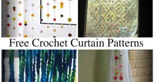 10 Beautiful Free Crochet Curtain Patterns u2013 Crochet Patterns, How