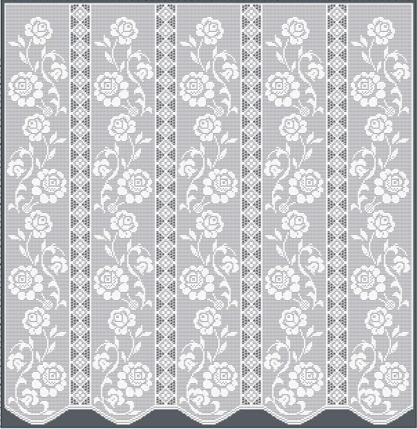 Crochet Valances Patterns | Curtains Decoration IDEAS | Drapes
