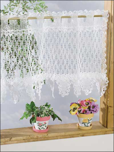 19 Cool Patterns for Crochet Curtains | Guide Patterns