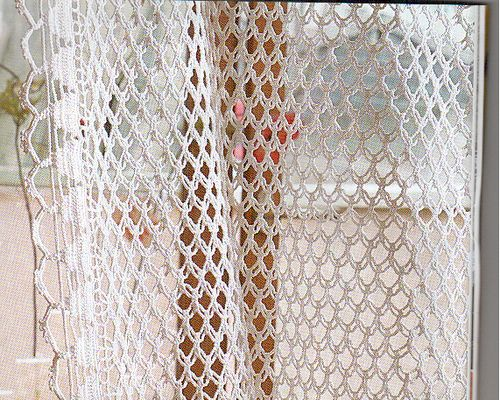 CROCHETBUTTERFLY: Crochet Curtain Pattern (NOTE: Handmade Crochet