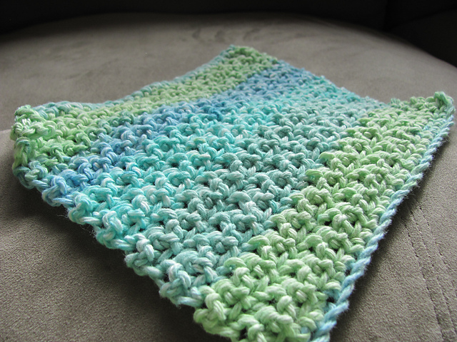 Ravelry: Easy Dishcloth pattern by Cheri Mancini