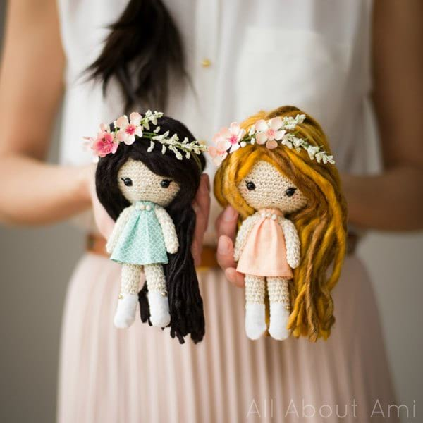 Primrose Crochet Dolls - All About Ami
