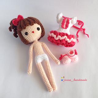 Ravelry: Kiki Amigurumi Doll pattern by jossa handmade