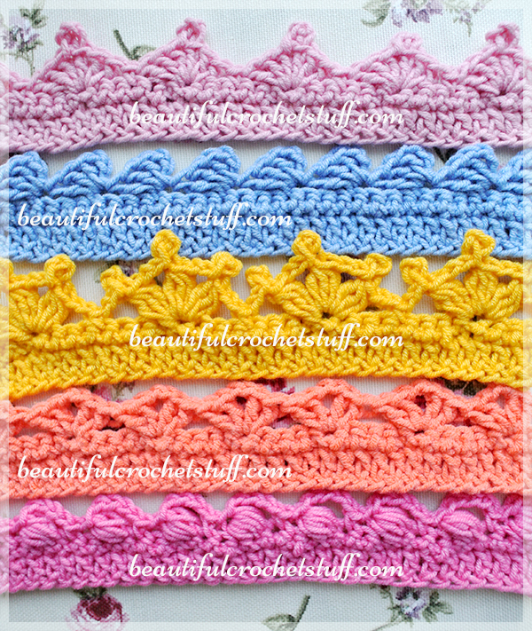 Crochet Borders u2013 Top 5 Free Patterns | Beautiful Crochet Stuff