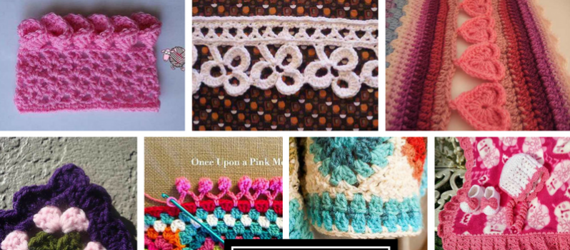 WHICH CROCHET EDGING PATTERNS ARE BEST   FOR BEGINNERS?