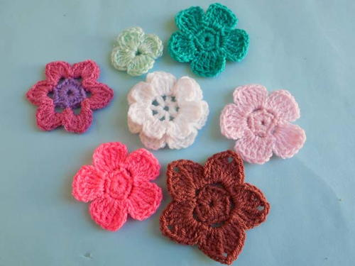 Crochet Flower Design | AllFreeCrochet.com