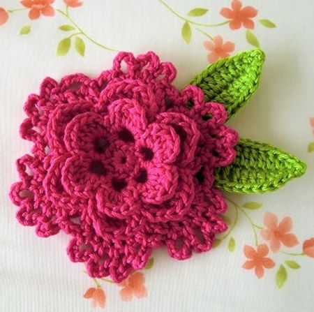 10 Adorable Free Crochet Flower Patterns | crochet | Crochet Flowers