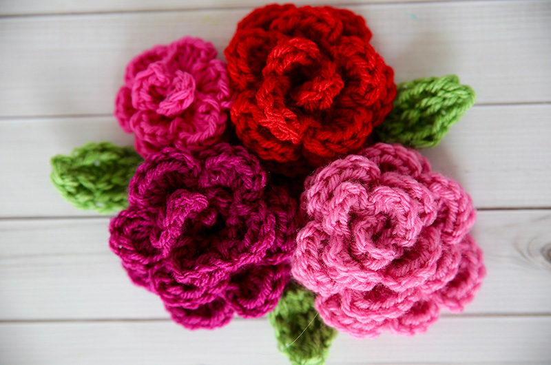 WHY YOU NEED SOME CROCHET FLOWERS FOR   HATS