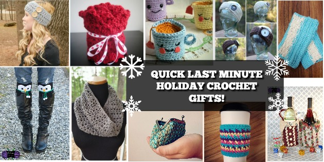 Quick Last Minute Crochet Gifts! - Happily Hooked