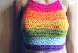 Simple Summer Halter Top | Lovely crochet PATTERNS | Pinterest