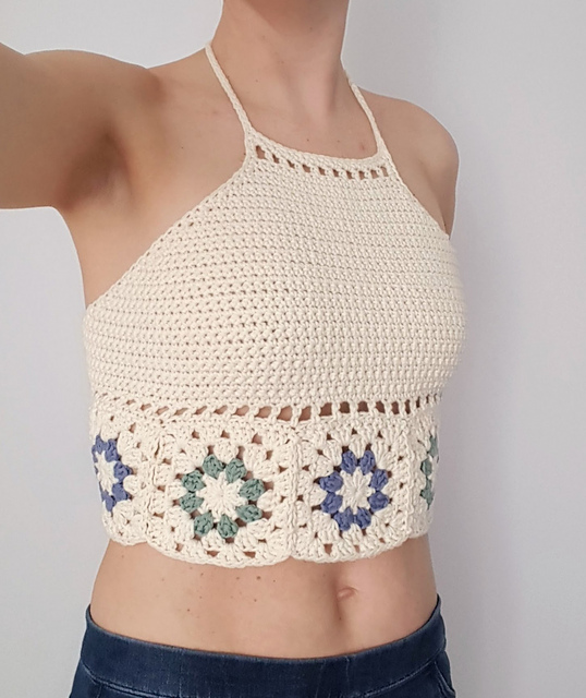 Crochet Halter Tops ⋆ Crochet Kingdom (7 free crochet patterns)