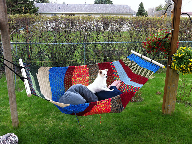 Ravelry: Easy Crochet Hammock pattern by Roxanna June