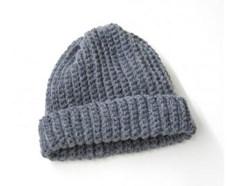 Adult's Easy Crochet Hat | Lion Brand Yarn