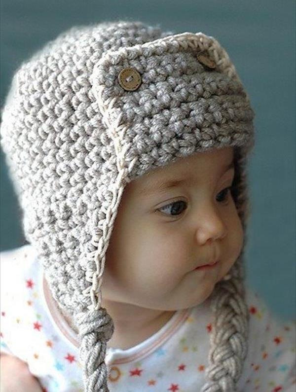 10 DIY Cute Kids Crochet Hat Patterns | crochet | Pinterest
