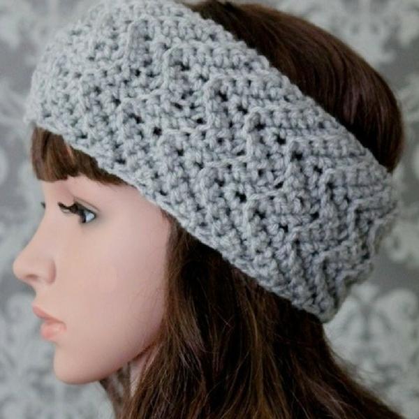 Zig Zag Headband Crochet Pattern