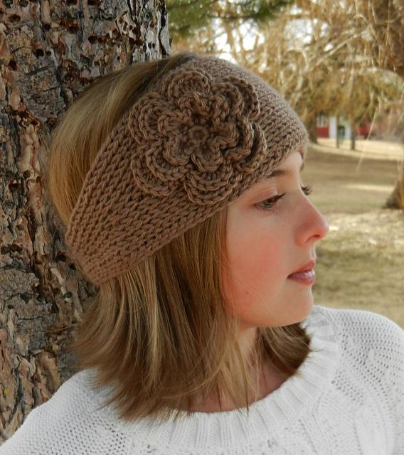 Ravelry: Tunisian Crochet Headband Earwarmer pattern by Kismet Crochet