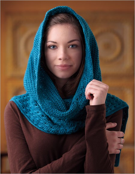 Hooded Scarf Crochet Pattern Download