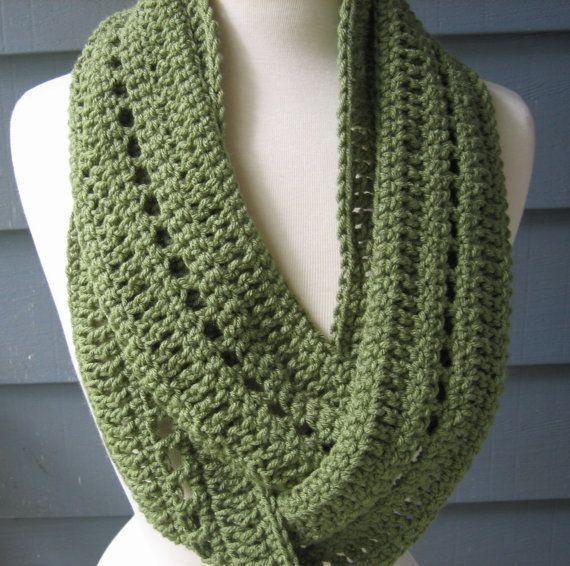 Free Crochet Infinity Scarf Pattern | Crochet PATTERN pdf Phoebe