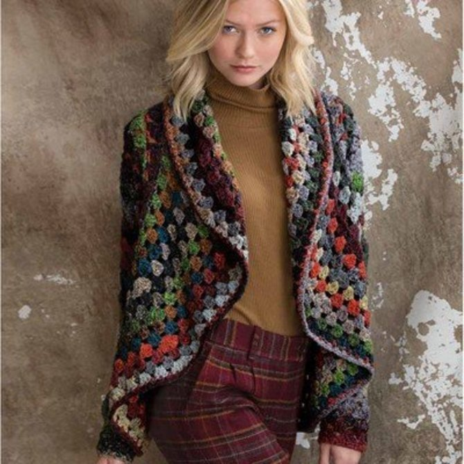 Noro Crochet Jacket PDF at WEBS | Yarn.com