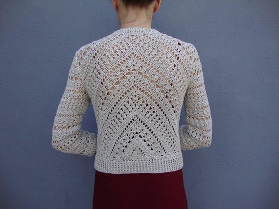 Crochet jacket PATTERN crochet TUTORIAL in English with | Etsy