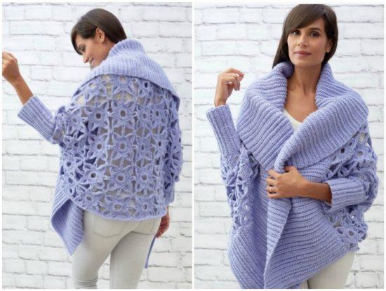 DIY Crochet Lace Jacket Pattern Ideas   The WHOot