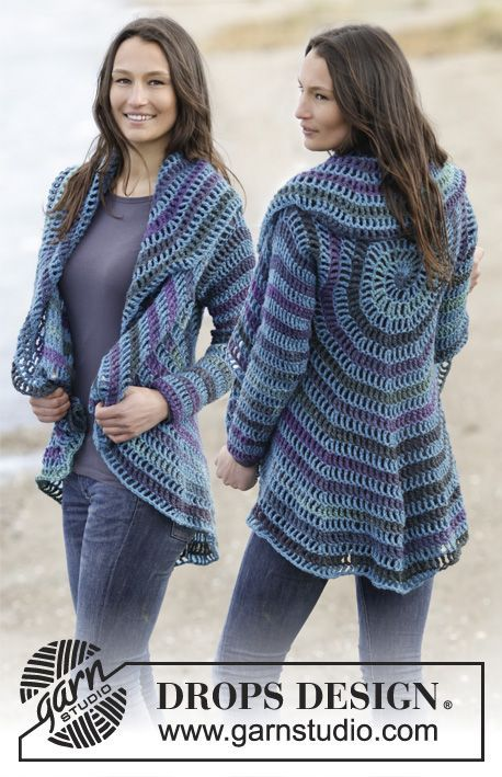 Circular Jacket Pattern Free Tutorial | crochet | Crochet patterns