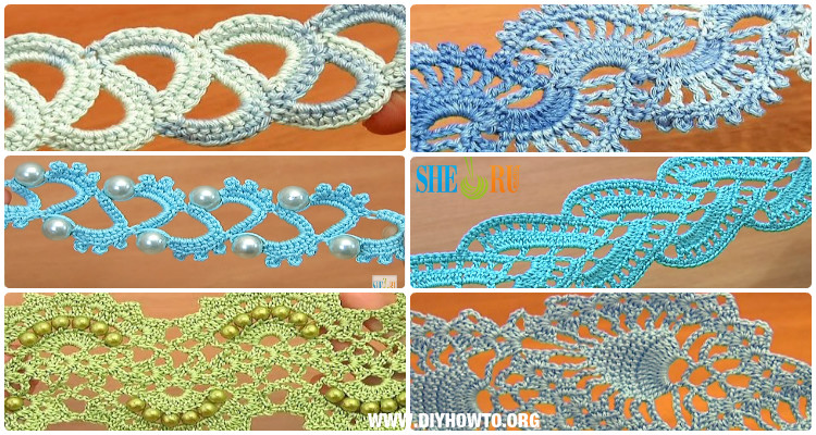 Crochet Tape Lace Free Patterns & Tutorials